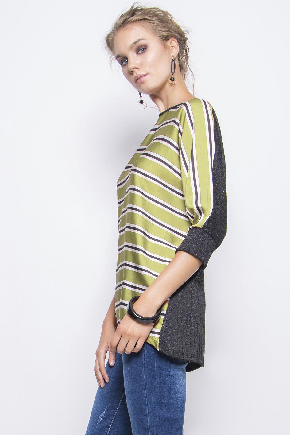 c7f706740a4e Μπλούζα ριγέ - Maxin Fashion