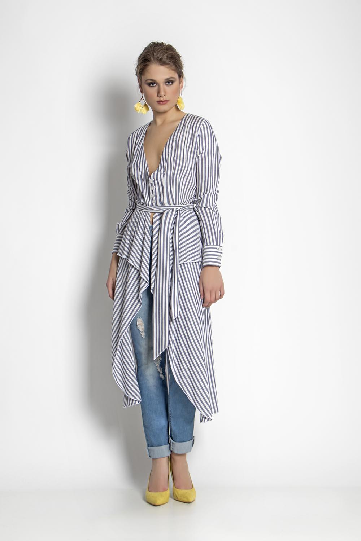 4f6b836f0ba9 Τουνίκ ριγέ - Maxin Fashion