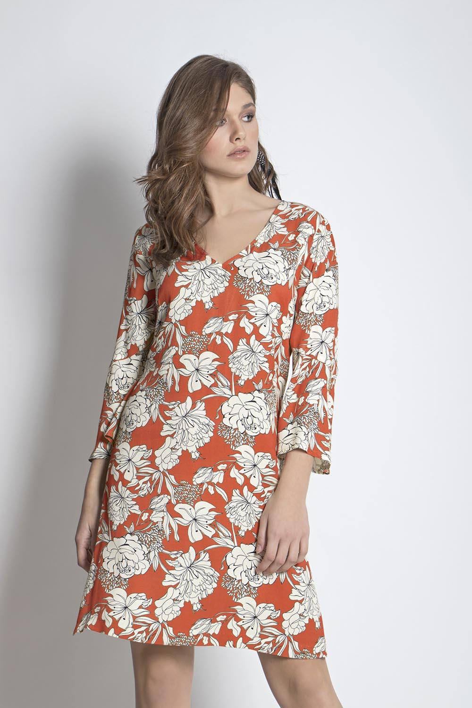 562847ce1c18 Φόρεμα φλοράλ - Maxin Fashion
